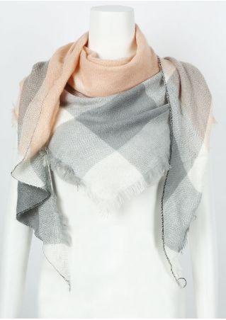 Plaid Fashion Scarf