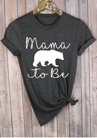 Mama Bear To Be O-Neck T-Shirt
