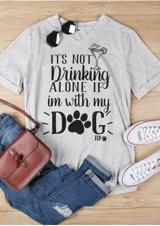 Its Not Drinking Alone T-Shirt