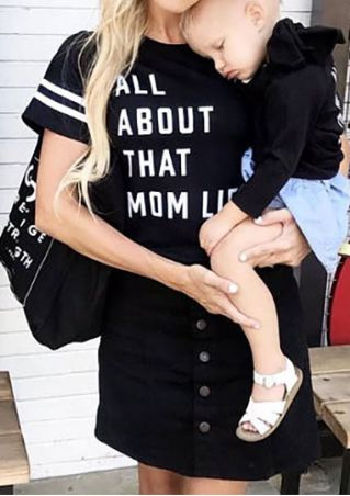 All About That Mom Life T-Shirt