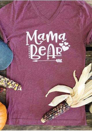 Mama Bear Arrow Heart T-Shirt