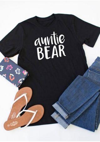 Auntie Bear Short Sleeve T-Shirt