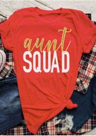 Aunt Squad Short Sleeve T-Shirt