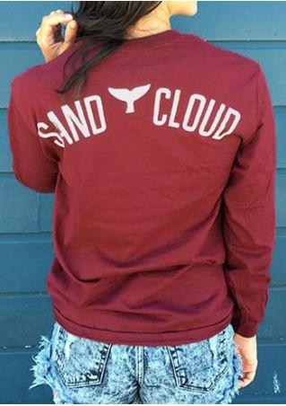 Sand Cloud Whale Tail Sweatshirt