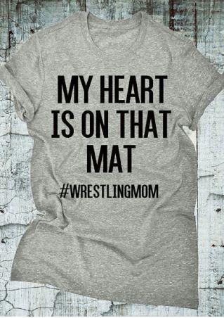 My Heart Is On That Mat T-Shirt