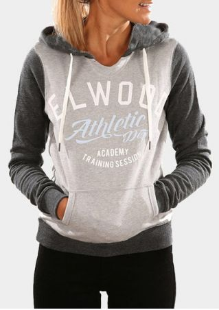 Athletic Dept Drawstring Pocket Hoodie