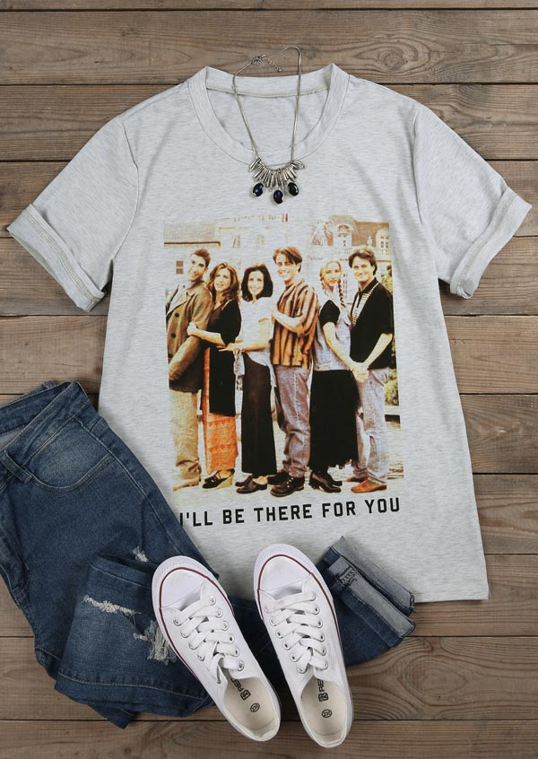 Friends I Ll Be There For You T Shirt Fairyseason