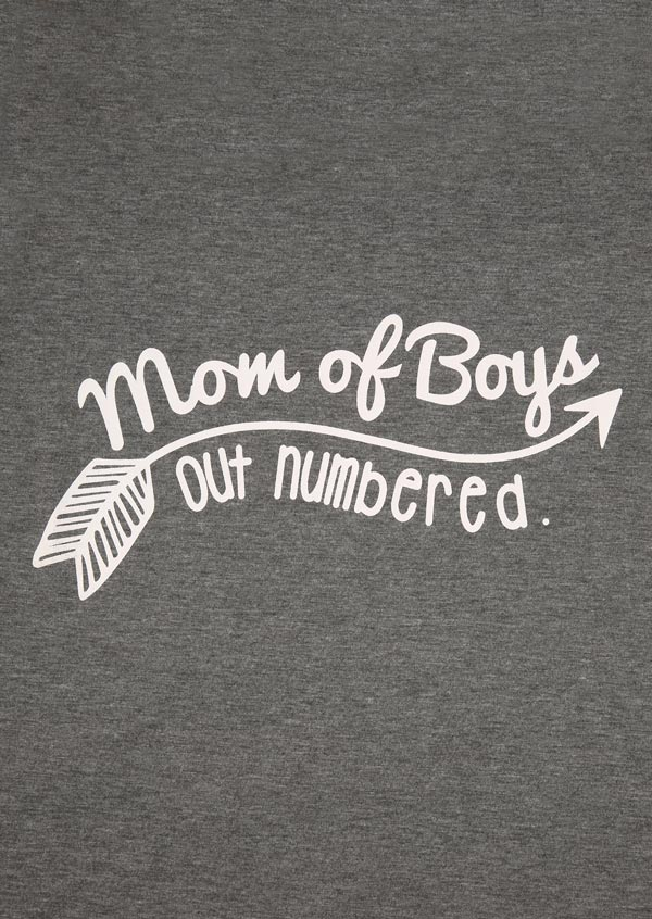 Mom Of Boys Outnumbered
