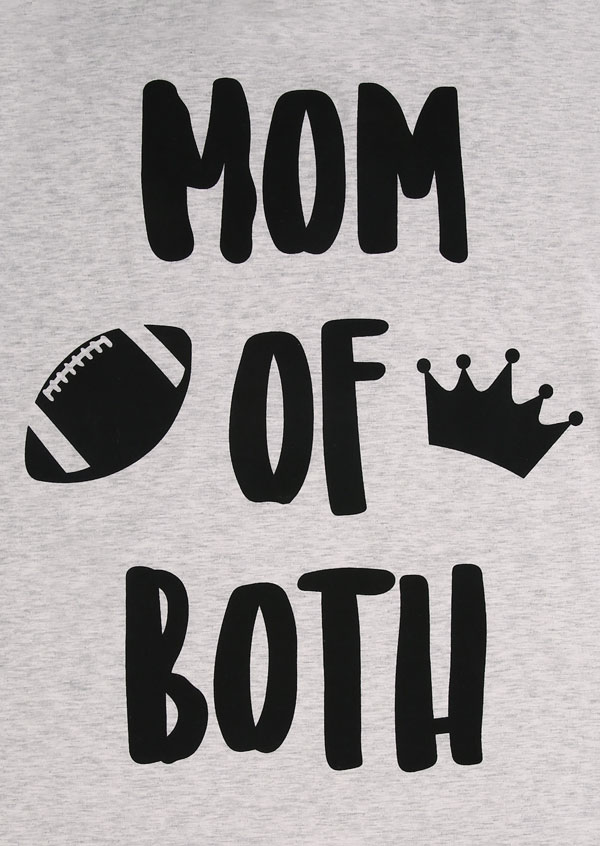 Mom Of Both Crown T Shirt Fairyseason