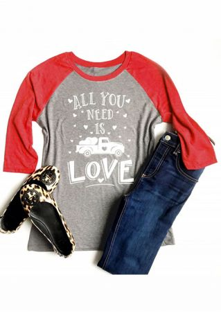 All You Need Is Love Baseball T-Shirt