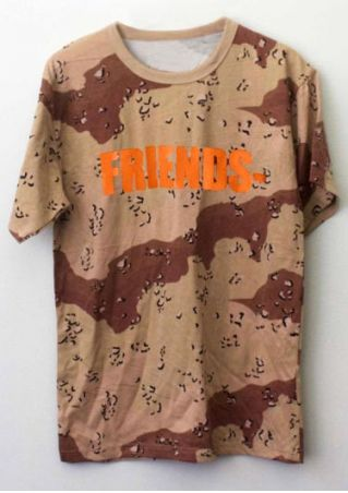 Friends Printed O-Neck T-Shirt