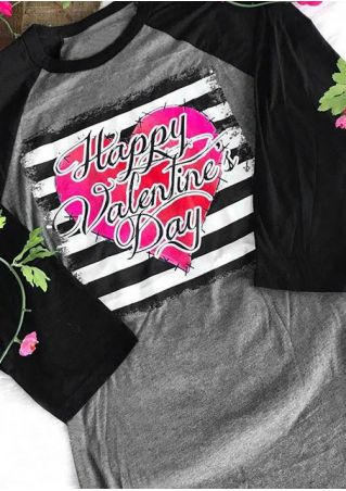 Happy Valentine's Day Baseball T-Shirt