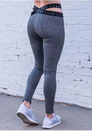 Love Cross Skinny Sport Pants