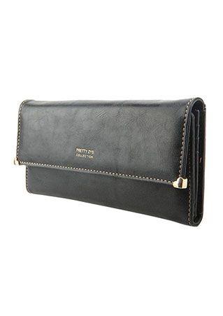 Clutch Matte Leather Wallet