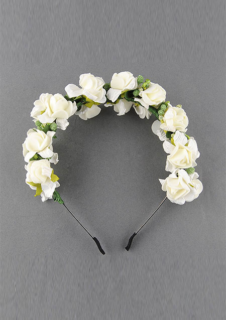 Image of Flower Garland Cute Hairband