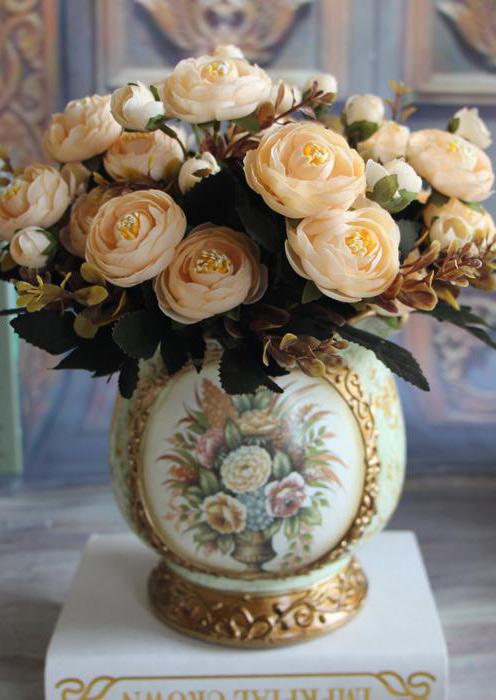 Image of Artificial Peony Flower Home Decor