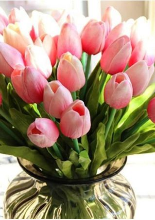 Artifical PU Tulips Flowers