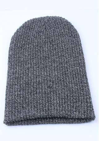 Baggy Beanie Casual Knit Hat