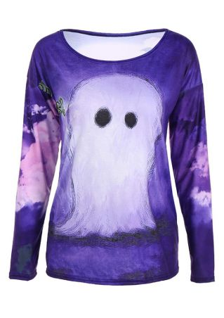 Halloween Printed Costume T-Shirt