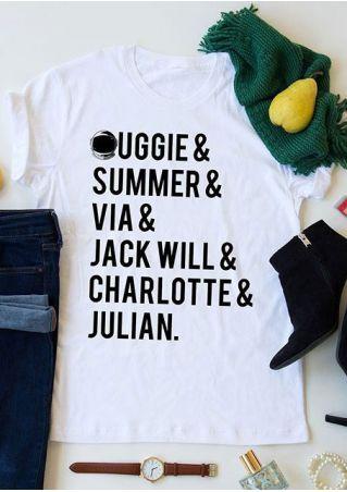 Wonder Auggie & Summer & Via T-Shirt