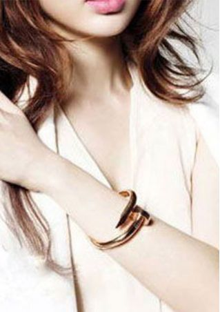 Solid Nail Bracelet