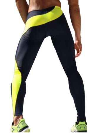 Color Block Skinny Sport Pants