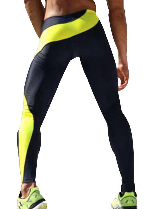 New Color Block Skinny Sport Pants, Pants