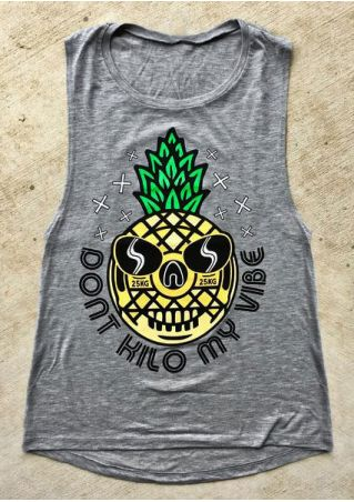 Dont Kilo My Vibe Pineapple Tank