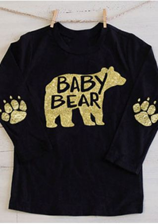 Baby Bear Paw O-Neck T-Shirt