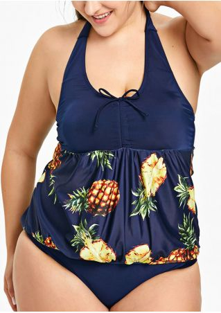 Pineapple Sexy Tankini