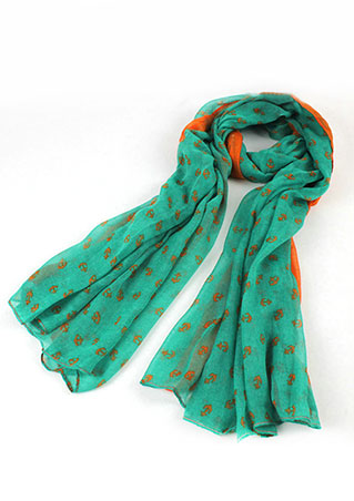 Image of Anchor Printed Soft Scarf