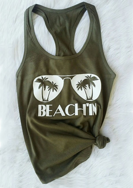 Beach'in Glasses O-Neck Tank thumbnail
