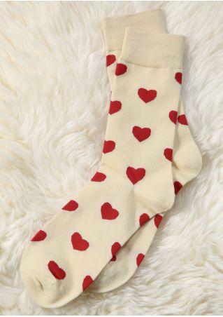 Heart Comfortable Socks