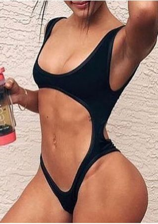 Solid Sexy Swimsuit