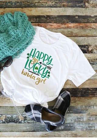 Happy Go Lucky Kinda Girl T-Shirt