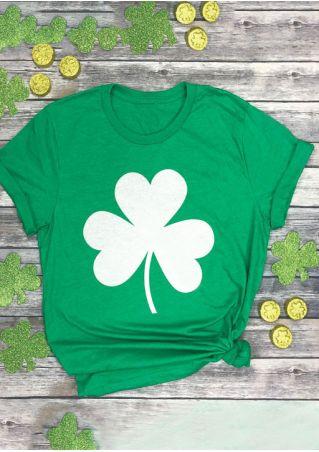 572e73c2f Shamrock St Patrick's Day T-Shirt - Fairyseason