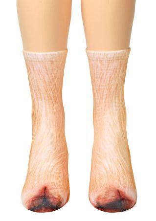 Pig Feet Simulation Crew Socks