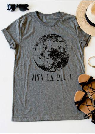 Viva La Pluto Short Sleeve T-Shirt