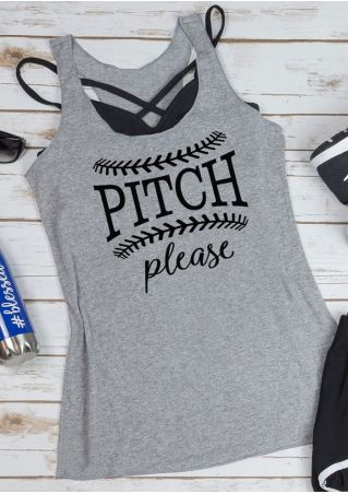 Pitch Please Racerback Tank