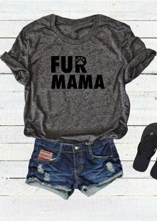 Fur Mama Short Sleeve T-Shirt