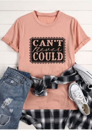 Can't Never Could O-Neck T-Shirt
