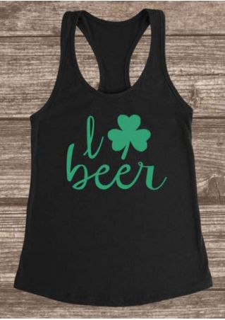 I Love Beer St. Patrick's Day Tank