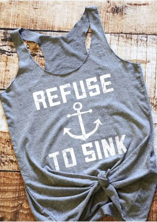Refuse To Sink Anchor Tank