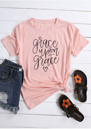 Grace Upon Grace O-Neck T-Shirt