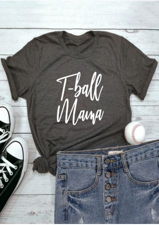 T-Ball Mama O-Neck T-Shirt