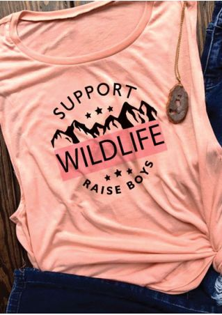 Support Wildlife Raise Boys Tank