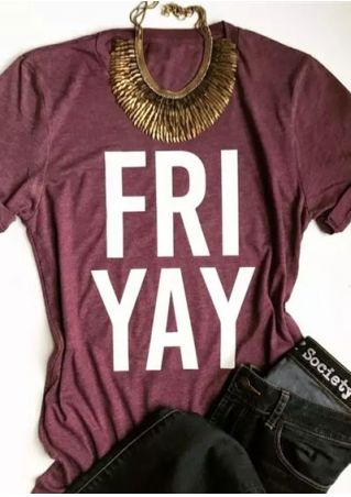 Fri Yay Short Sleeve T-Shirt
