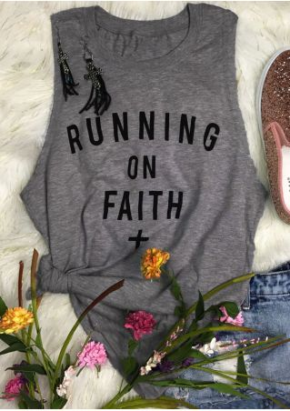 Running On Faith O-Neck Tank