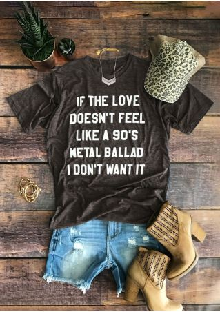 90's Metal Ballad O-Neck T-Shirt