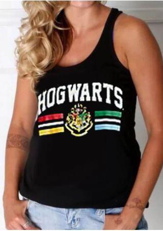 Plus Size Hogwarts O-Neck Tank